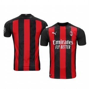 Women's 2020-21 AC Milan Red Home Replica Jersey