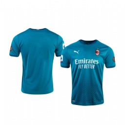 Youth 2020-21 AC Milan Blue Third Authentic Jersey
