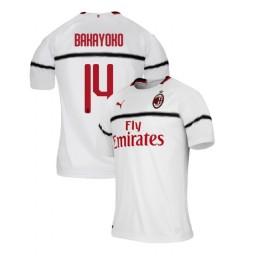 AC Milan 2018-19 Authentic Away #14 Tiemoue Bakayoko White Jersey