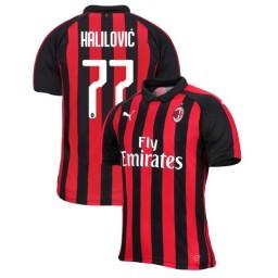 Alen Halilovic AC Milan Home Away Third Jersey Shop