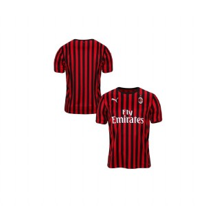 Youth AC Milan 2019-20 Replica Home Red Black Jersey